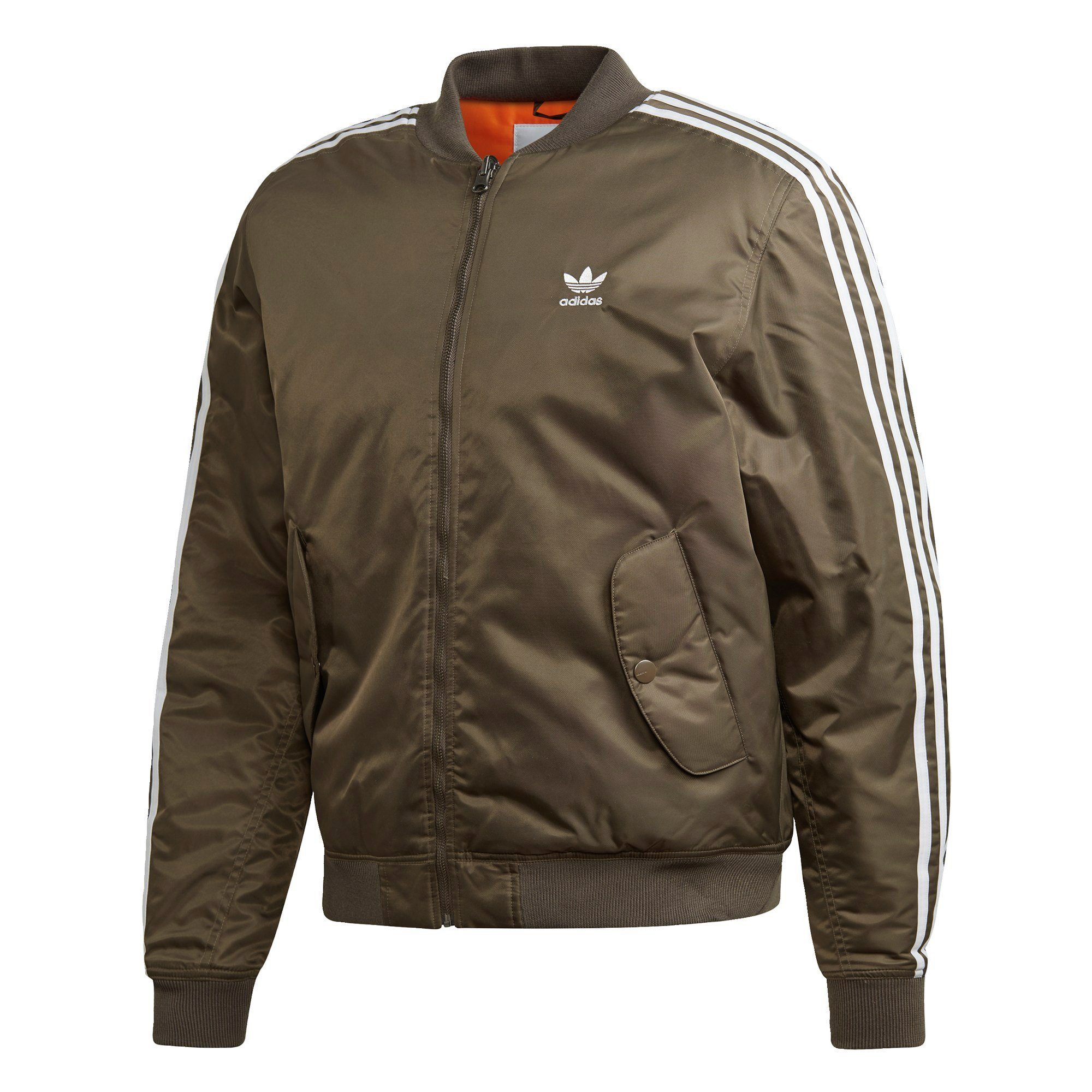 billig Trendy Adidas Originals Mens Racing Bomber Jacket