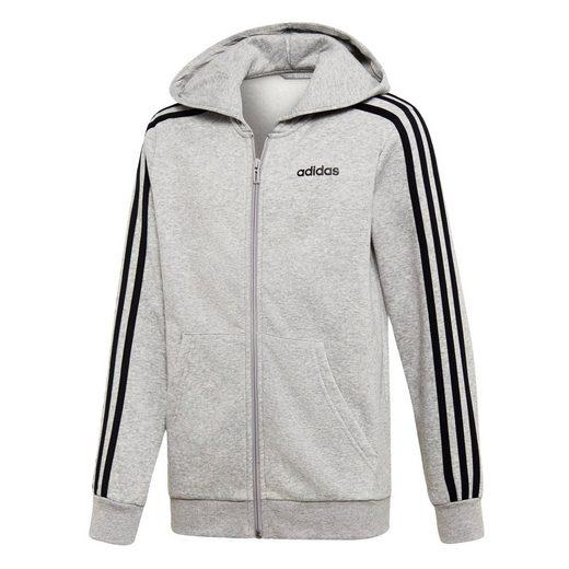 adidas Performance Sweatjacke »Essentials 3-Streifen Kapuzenjacke« Essentials