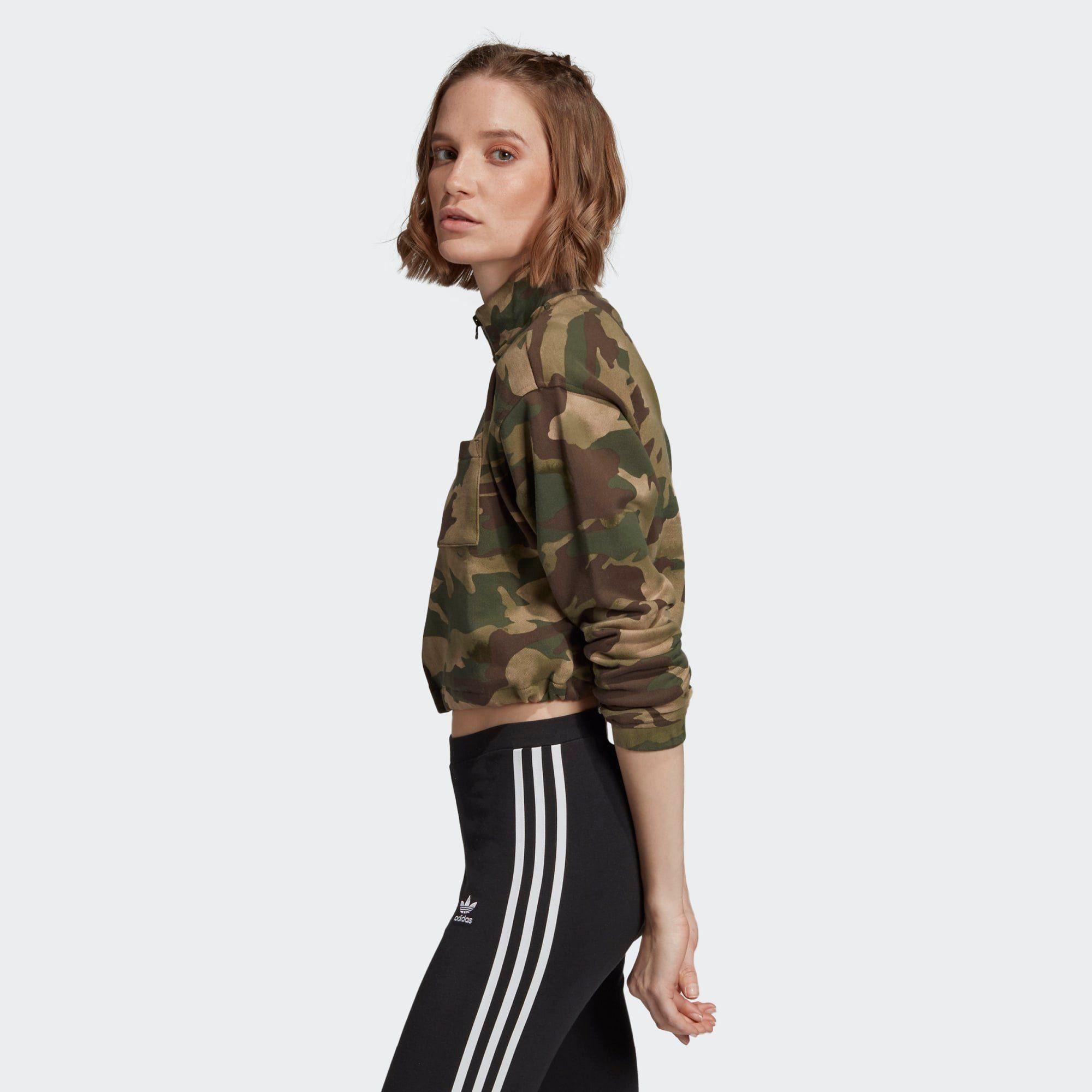 Adidas Originals Sweatshirt »half-zip Sweatshirt« Ryv Online Kaufen