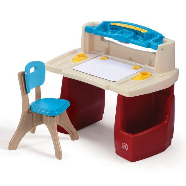 Schreibtische - STEP2 Schreibtisch »Deluxe Art Master«, für Kinder, BxLxH 90x41x79 cm  - Onlineshop OTTO