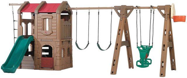 Empfehlung: Märchen Spielturm Adventure Lodge mit 3 Schaukeln  von Step2*