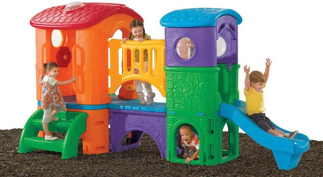 Empfehlung: Kunststoff Märchen Spielturm mit Rutsche  von Step2*