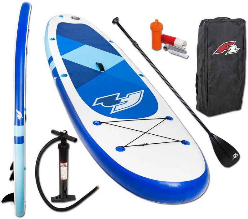 F2 Inflatable SUP-Board »F2 Prime blue mit Alupaddel«, (Set, 4 tlg)