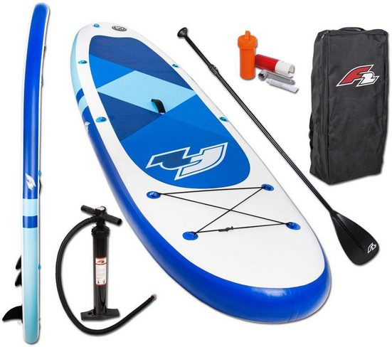 F2 Inflatable SUP-Board »F2 Prime blue mit Alupaddel«, (Set, 4 tlg)