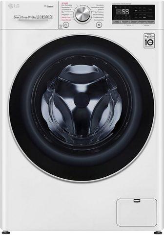 LG Skalbimo mašina-džiovyklė V7 WD 96H1 9...