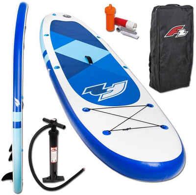 F2 Inflatable SUP-Board »F2 Prime blue«, (Set, 3 tlg)