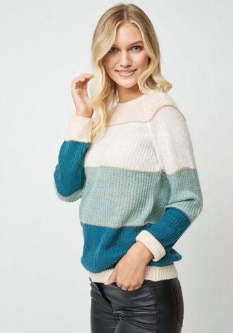 SOYACONCEPT Dryžuotas megztinis »Celika3«