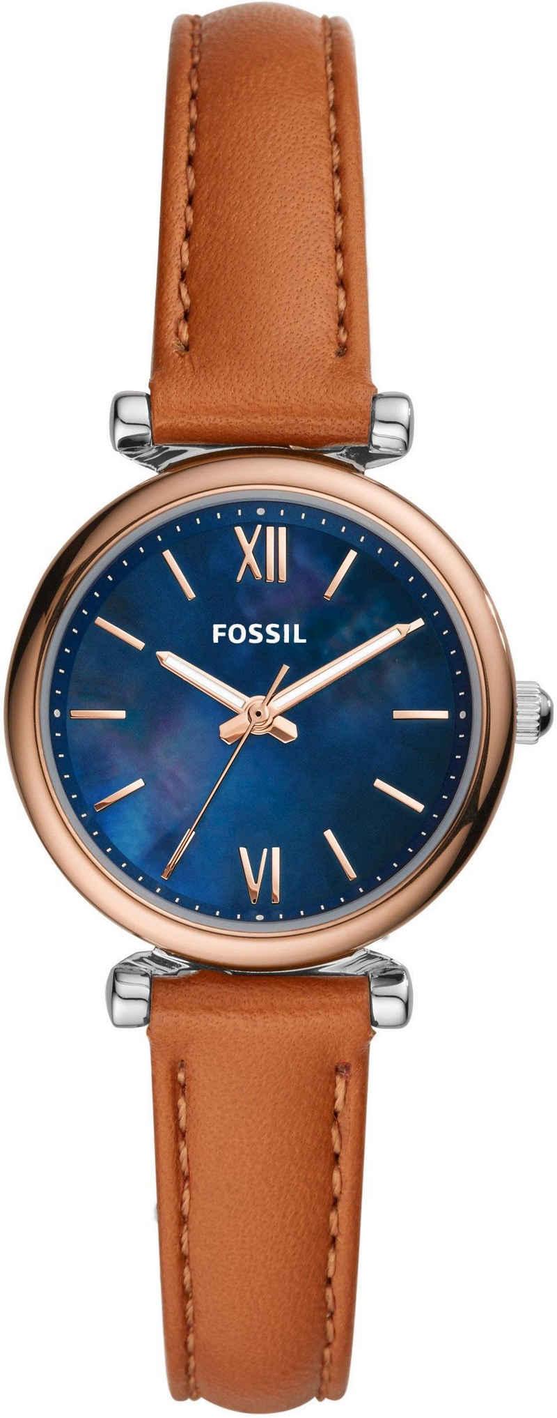 Fossil Quarzuhr »CARLIE MINI, ES4701«