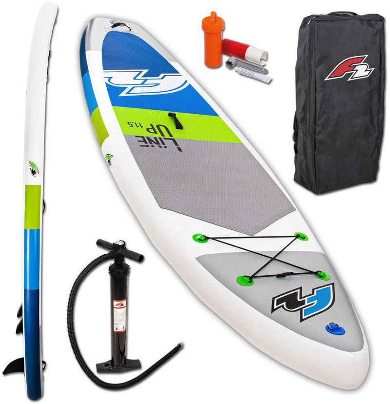 F2 Inflatable SUP-Board »F2 Line Up SMO blue«, (Set, 3 tlg)