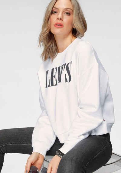 Levi's® Sweatshirt »Graphic Diana Crew« mit Logo- Druck auf der Brust