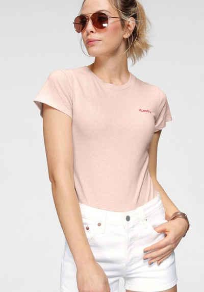 Levi's® Shirtbody »Graphic Tee Bodysuit« mit kleinem Schritzug auf der Brust