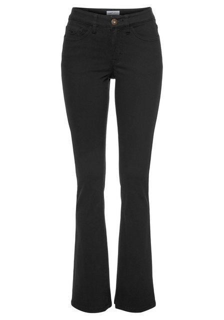 Hosen - Arizona Bootcut Jeans »Baby Boot« Mid Waist › schwarz  - Onlineshop OTTO