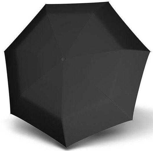 doppler® Taschenregenschirm »Carbonsteel Mini XS, uni black«