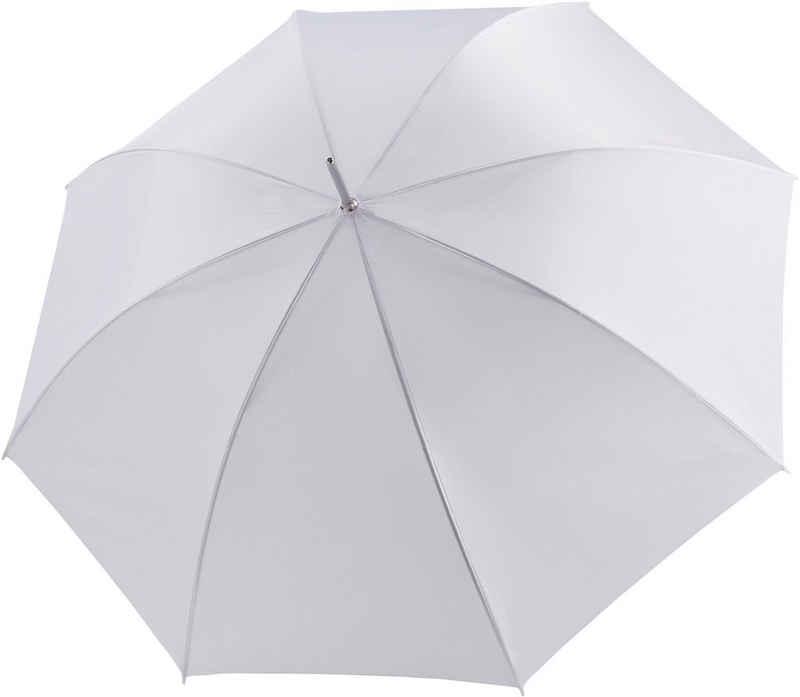 doppler® Partnerschirm »Big Wedding uni weiß«, mit übergroßem Schirmdach