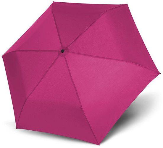 doppler® Taschenregenschirm »Zero Magic, uni fancy pink«