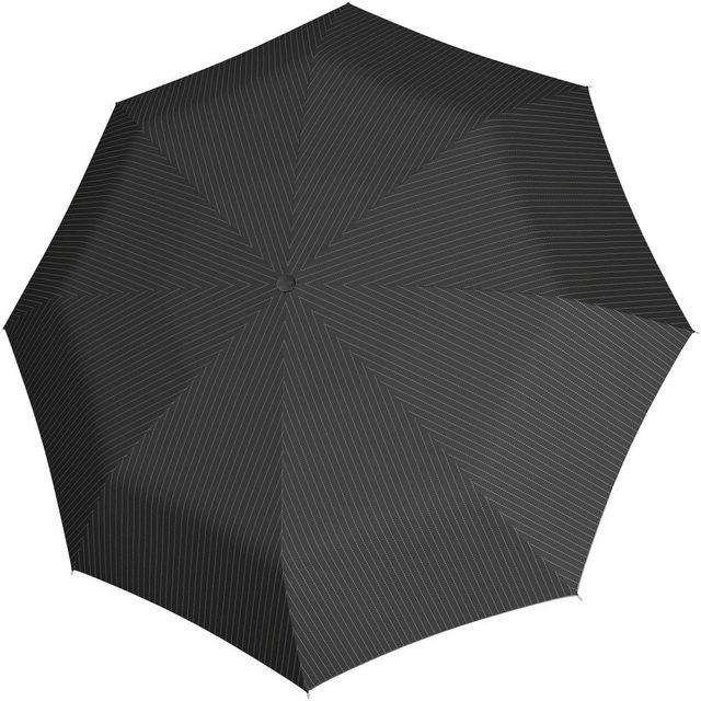 s.Oliver Taschenregenschirm »X-Press Taschenschirm, Stripe Black« | Accessoires > Regenschirme > Taschenschirme | s.Oliver