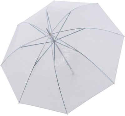 doppler® Partnerschirm »Big Wedding transparent«, mit übergroßem Schirmdach