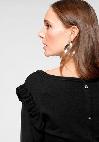 LAURA SCOTT Пуловер с круглым вырезом