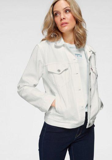 Levi's® Jeansjacke mit durchgehender Knopfleiste