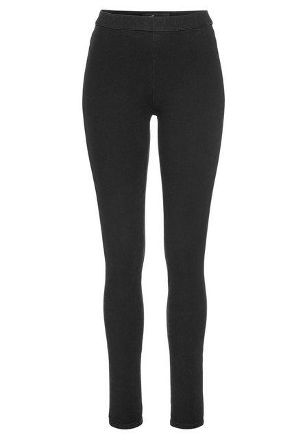 Hosen - Arizona Jeansjeggings »Bi Stretch unendlich elastisch« High Waist › schwarz  - Onlineshop OTTO
