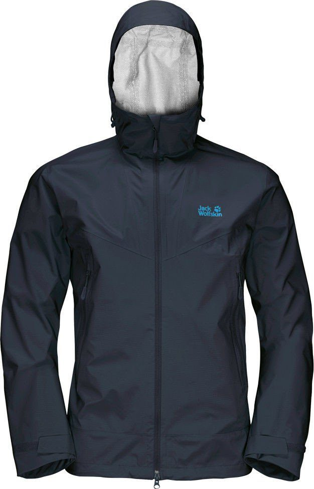 Jack Wolfskin outdoor Jacke in blau