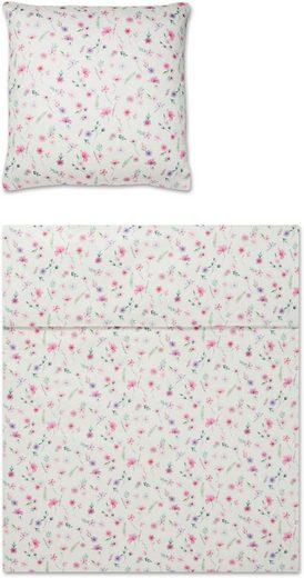 Bettwäsche »Flow«, Yes for Bed, mit filligranen Blumen