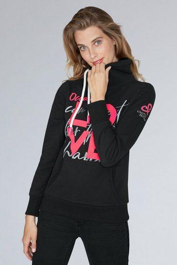 SOCCX Sweater mit Kängurutasche