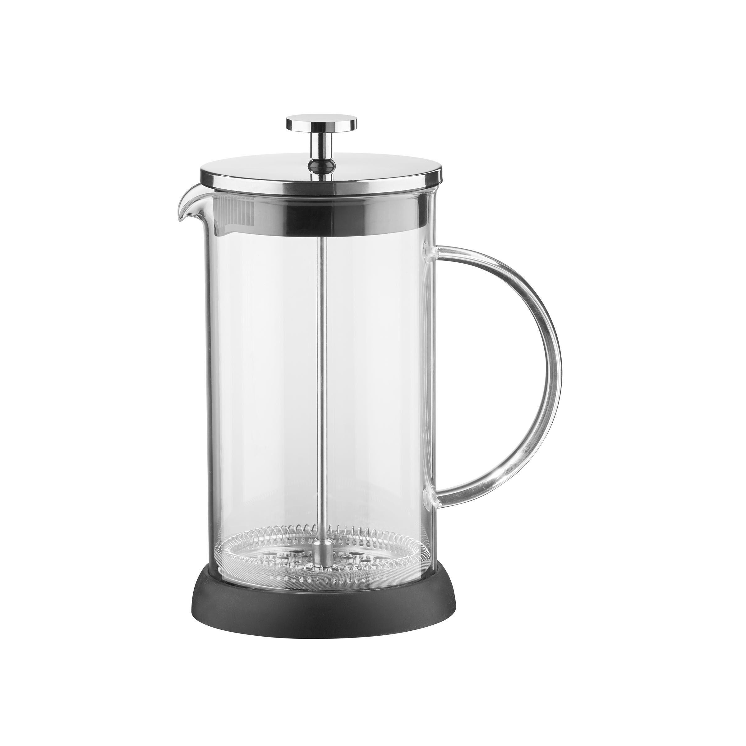 WMF Coffee Time French Press Kaffeekanne 0,75 l.Glaskanne 2 Kaffeetassen