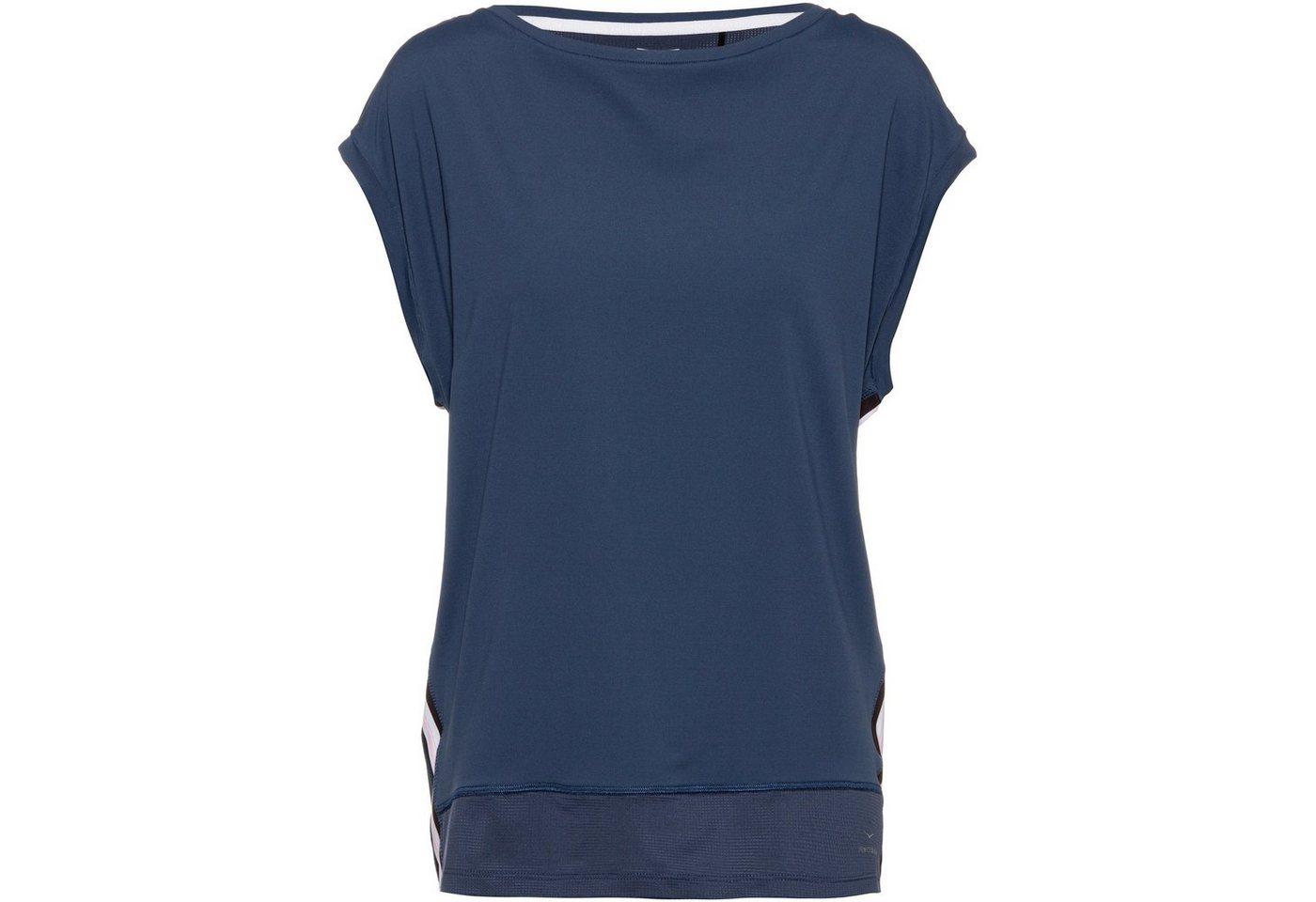 Damen Venice Beach Funktionsshirt »Madrid« blau, weiß   04049254440619
