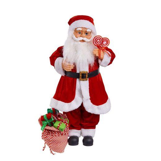 BUTLERS X-MAS »Santa animiert mit Musik 71cm«