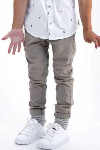 Garcia Stoffhose mit verstellbarem Bund und Eingrifftaschen