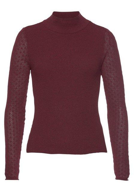 Only Stehkragenpullover »JESS« aus der nachhaltigen LIFE Kollektion   Bekleidung > Pullover > Stehkragenpullover   Only
