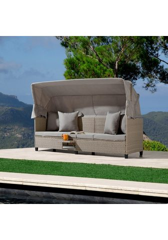 KONIFERA Sodo sofa-lova »Alabama« Polyrattan