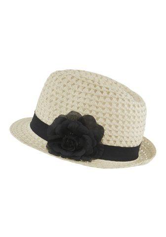 HEINE Skrybėlė su dekoratyvus Blüte su dekor...