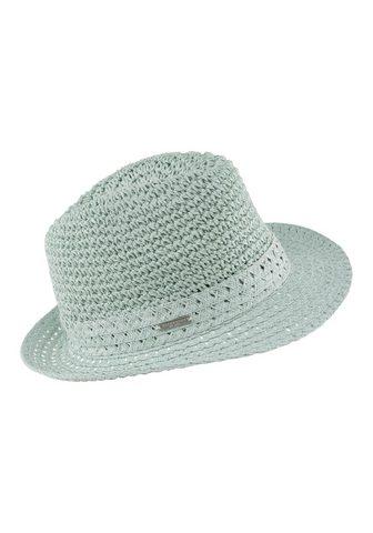 SEEBERGER Skrybėlė iš Papierstroh iš Papierstroh...