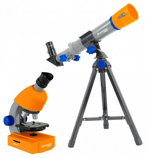 BRESSER junior Teleskop »Junior Mikroskop & Teleskop Set«