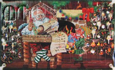 Krebs Glas Lauscha Adventskalender (Set, 24-tlg), mit Weihnachtsbaumschmuck