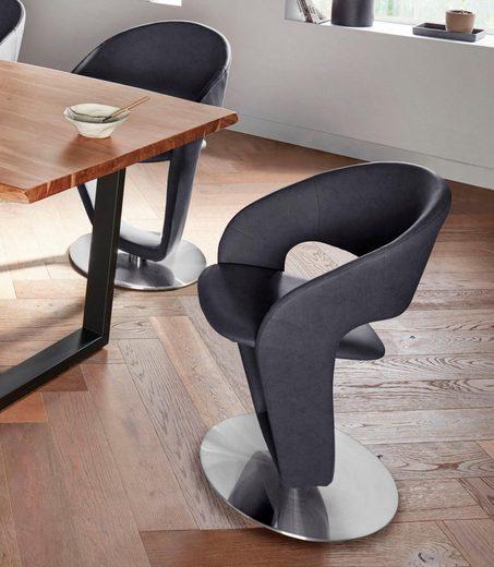 MCA furniture Stuhl »FIRONA« (Set, 2 Stück), Stuhl belastbar bis 140 Kg