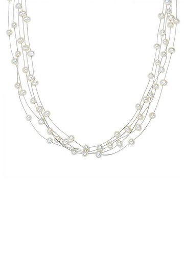 Valero Pearls Perlenkette »50100067«, mit Süßwasserzuchtperlen
