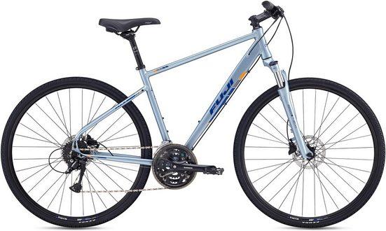 FUJI Bikes Fitnessbike »TRAVERSE 1.3 DISC«, 24 Gang Shimano Acera Schaltwerk, Kettenschaltung