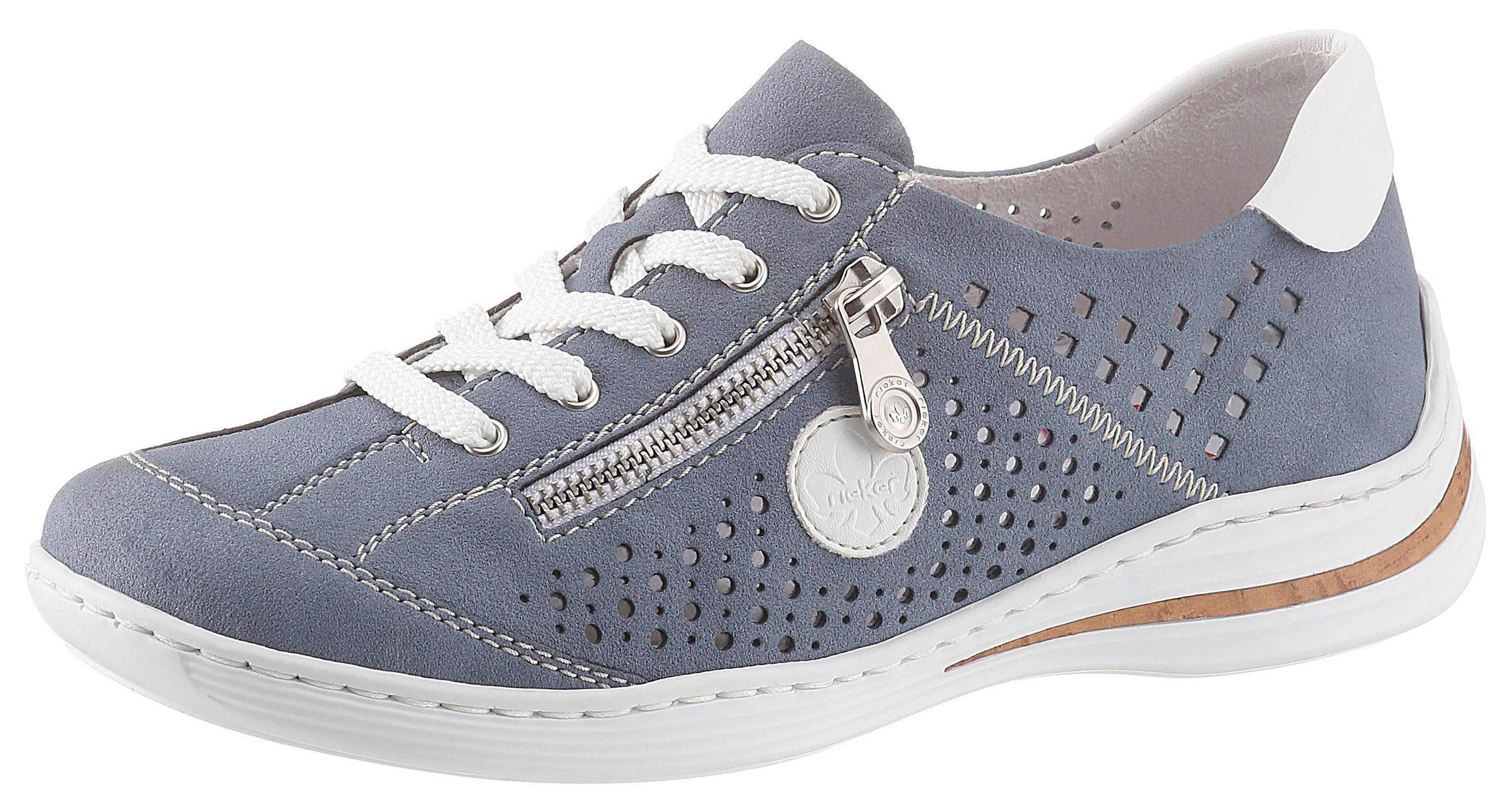 Rieker Sneaker mit seitlichem Zier Reißverschluss | OTTO