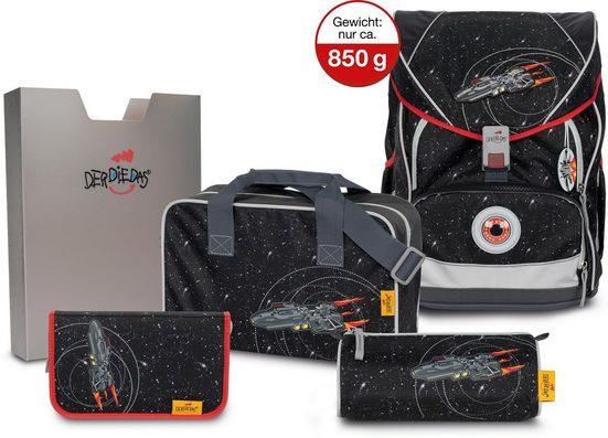 DerDieDas® Schulrucksack »ErgoFlex XL - Stardust« (Set)