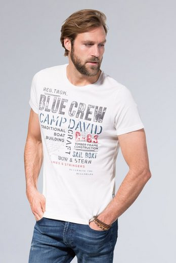 CAMP DAVID T-Shirt mit Artwork