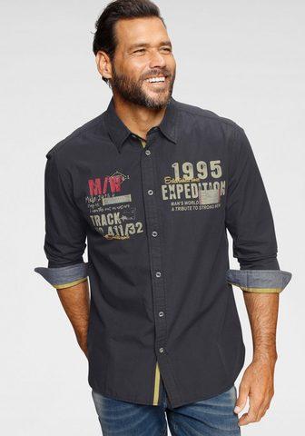 MAN'S WORLD Marškiniai ilgomis rankovėmis