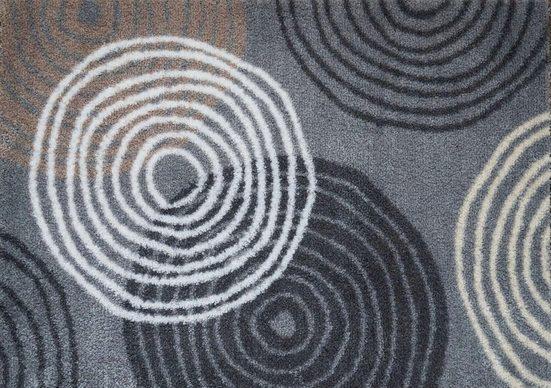 Fußmatte »Loop«, Akzente, rechteckig, Höhe 5 mm, waschbar