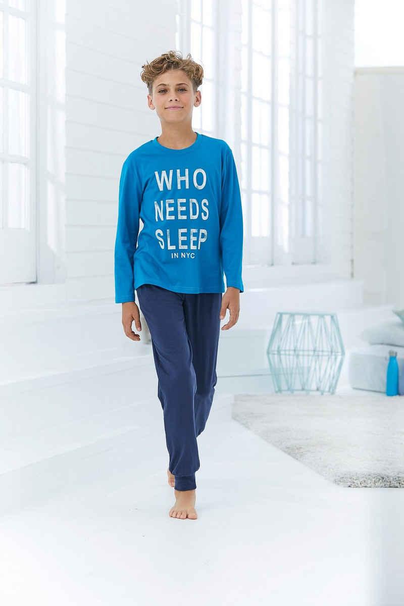 Pyjama mit witzigem Spruch