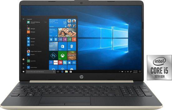 HP 15-dw1260ng Notebook (39,6 cm/15,6 Zoll, Intel Core i5, GeForce MX130, 512 GB SSD, inkl. Office-Anwendersoftware Microsoft 365 Single im Wert von 69 Euro)