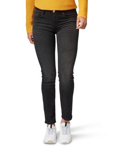 TOM TAILOR Slim-fit-Jeans »KATE« mit leichter Waschung und Whiskers