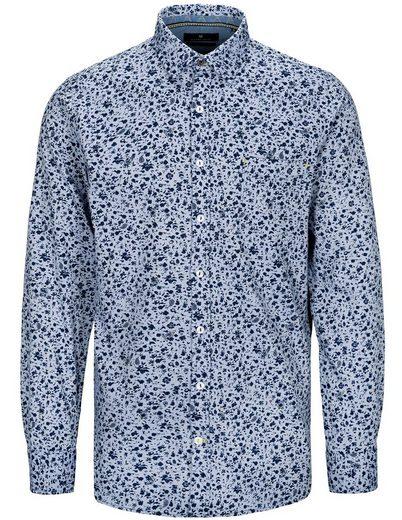 BASEFIELD Langarmhemd »Modern-Fit« mit Kent Kragen