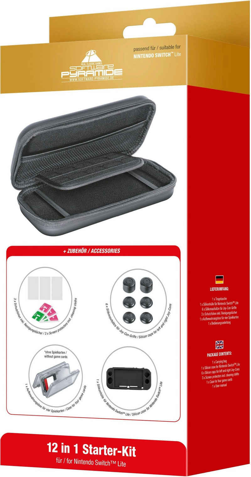 Software Pyramide Tragetasche »12 in 1 Starter-Kit für Nintendo Switch Lite«